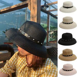 Moda Caccia Bucket Hat Unisex pesca in poliestere per le vacanze Semplice Viaggi Donne Camping Cappello Fishman visiera di estate bob chapeau