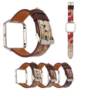 Fitbit blaze 밴드 용 Case + watch strap Fitbit blaze 용 Milanese 루프 브레이슬릿 가죽 시계 밴드 최고 품질