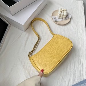 French Bag Women Shoulder Pattern 2020 High New Alligator Trend Tote Bag Quality Handbag Fashion Shoulder Wpuen