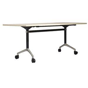 YC-81 Hareketli Ahşap Katlanabilir Eğitim Masası / katlama eğitim masa masa çelik ayakları taban ofis konferans toplantı masası masası