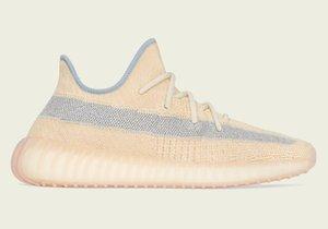 New Kids Linen v2 Designer Shoes Kanye West Hombres Mujeres Zapatillas Tienda Con Caja Envío Gratis Tamaño US7-13