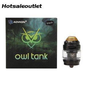 Advken EULE Tank 3 ml/4 ml Große Kapazität Mit Top Air-in-nehmen und lufteinstellung Design Original Elektronische Zigarette Zerstäuber