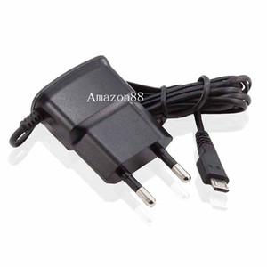 Caricabatterie da parete micro USB USB US Caricabatteria da viaggio 110V-240V 5V 0.7A Caricabatterie cellulare per Samsung Galaxy S4 S3 S2 i9300 i9100