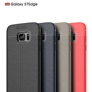 Galaxy S7 edge pattern business soft tpu model fashion business complete all-inclusive anti-fall phone cover