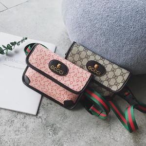 Детские сумки 2019 корейской версии осень тенденции моды мешок плеча личности дикий диагональный крест мини принцесса груди сумки Purs