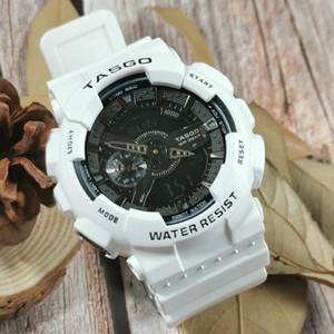 1adet üst relogio G110 erkek spor saatleri, LED kronograf kol saati, askeri saat, dijital saat, erkek ve çocuk,  için iyi bir hediye dropship yapılabilir