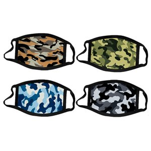Fashion Camouflage Face Mask Dust-proof Haze-proof Breathable Sun Protective Mask Adult and Kids Outdoor Sports Cycling Masks