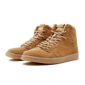 Nike concepteur de Chicago Cristal 1 Hommes Chaussures 1S OG MID Sport A Sneakers canard mandarin brevet Sneakers chaussures de sport Formateurs Rookie xshfbcl