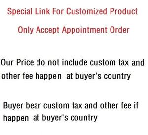 Özelleştirilmiş Ürün veya (Yalnızca atandı Sipariş için) nakliye ücreti için özel bağlantı