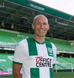 20 21 camisetas de fútbol FC Groningen hogar lejos Robben 2020 2021 Groningen Deyovaisio Zeefuik Daishawn Redan camisetas de maillot de pie