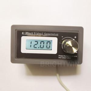 4-20mA Gerador de Sinal de Corrente Transdutor de Carga Testador PLC Calibrador Simulador de Saída de Dois Fios LCD 4-20mA