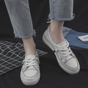 Sommer koreanischen asual Schuhe Frauen Normallack Art und Weise Schuhe der Frauen flache Ferse Loafers Walking Frauen Tennisschuhe Turnschuhe