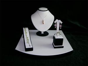 Takı Ekran Standı Tutucu Kombinasyon Kiti Counter Display Dikmeler Vitrin Takımı İçin kolye Kolye Küpe Yüzük Bilezik Dispaly Tutucu