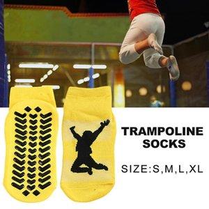 5 pares Crianças Cotton Anti Skid Socks Trampolim Socks Adulto desgaste confortável antiderrapantes crianças Esportes de fitness