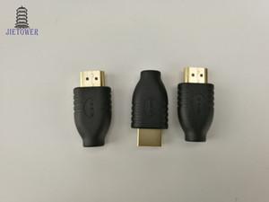 Negro Universal Estándar HDMI Macho Tipo A a Micro HDMI Tipo D Adaptador de enchufe hembra Convertidor de viaje Cargador de energía