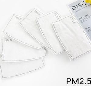 PM2.5 Filtro a carboni attivi sostituibile Anti Haze Filtro sostituibile Mask Cartuccia filtro per Mask Paper PM2.5 Filtri LJJK2151