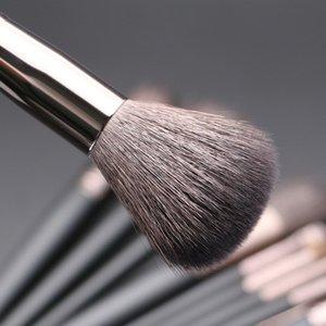 Инструменты Кисть для макияжа высокого макияжа Make Up Set Kit щетки для волос Качество Black Natural Eye Face 11pcs Профессиональная Goat Hair Set Xkjor
