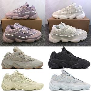 2020 morbida visione deserto di pietra ratto 500 Kanye scarpe da corsa osso utility bianco sale nero Luna eccellente uomini gialli donne scarpe da ginnastica di marca