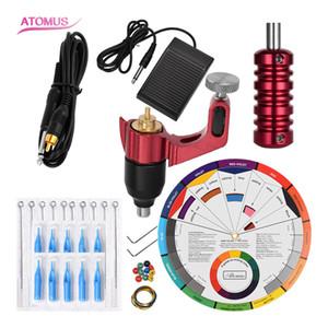 And Set Complete Gun Motor Kit Tattoo Body Art Professional Complete Kit Machine Set Rotary Pen Rotary Tattoo Pen Kits Kit