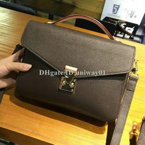 Borsa Donna Croce corpo di qualità del corpo del sacchetto di spalla delle donne di cuoio del messaggero della borsa della donna pochette metis
