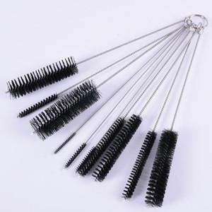 10 pcs Set Nylon Tube Set Cleaning Brush Straw Set For Cleaning Glass Hookah Jewelry Cleaning Brushes Feeding Bottle Brush