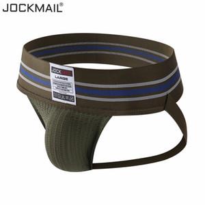 Jockmail الرجال المثليين داخلية حزام رياضي مثير أزياء هومبر ثونغ الرجال سلسلة أوم القطن زلة سراويل داخلية الملابس الداخلية g سلسلة SH190726