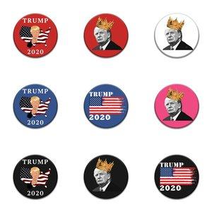 Introverti émail Pin Noir Blanc Trump Badge Trop Peopley Vêtements Sac Broche épinglette Punk Bijoux cadeaux pour les introvertis Amis # 752