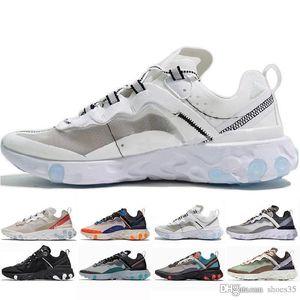 React Element 87 Mens Womens designer shoes mens Trainers Light Black Sail Light Bone Hiking Jogging Zapotos sport shoes sneakers