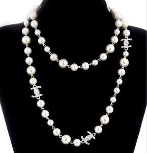 SICAK Kadınlar Moda Kolye Doğal İnci Kolye Triko Çok Katmanlı Elmas Kolye İthalat Kristal Broş Gelin Takı Mücevher