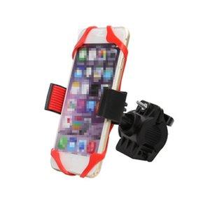 Bici della bicicletta del supporto del telefono Smart Phone universale della bicicletta del motociclo porta cellulare Bike Mobile Holder stand all'aperto Gadget ZZA2272