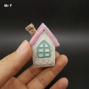 Exquisite Diy Accessory Resin Craft Decorations Miniature House Model Terrarium Christmas Gift Toy