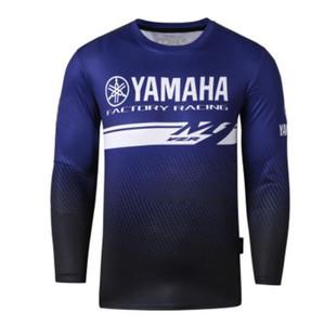 Moto YZR M1 Motocross Moto GP JERSEYS Equitazione uomini Traspirante per yamaha T Shirt Abbigliamento Driving