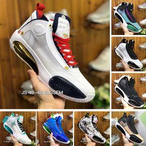 New Camo Bred Blau Void Eclipse-34 Basketball-Schuhe Bernstein Aufstieg Snow Leopard Mode 34s Michael 23 XXXIV Designer Sport Turnschuhe 40-46