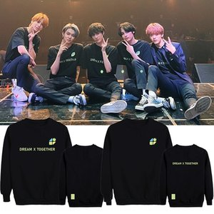 2020 TXT FANLIVE sweater clothing DREAM X TOGETHER surrounding aid clothing round collar sweater men and women