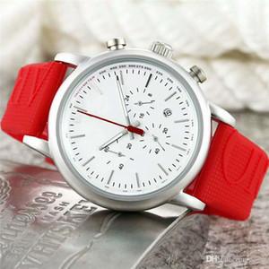 Erkekler Kuvars saatler Yeni Varış Tüm Subdials Çalışma AR Kauçuk Kayış Spor İzle Moda Lüks Gündelik Giyim erkek saat montres hommes dökün