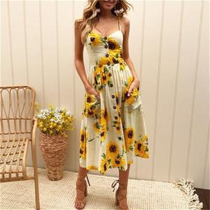 pa6qL para mujer vestidos de playa Blend s Lluxury diseñador de la mujer vestidos de verano informal Summer Sea estilo largo de Cutton mujeres suaves y cómodas Dres