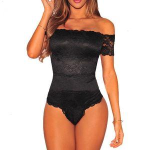 Tuta Donna Body Donna Rosa * Black Body Online Shopping economici Clothes Cina pizzo solido aderente tuta Femme Drop Shipping
