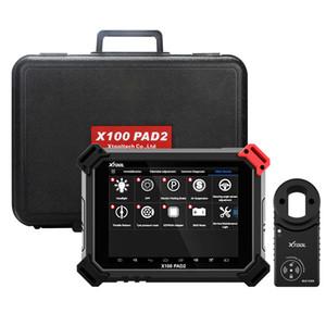 X100 Pro PAD2 outil de diagnostic professionnel et programmeur clé avec VW 4 5 IMMO et frein huile fonctions SAS BMS TMPS DPF
