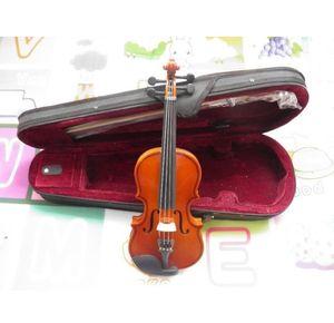 violino fatto a mano per bambini in legno completo 3/4 2/4 1/4 1/8 1/10 1/16 set completo con astuccio