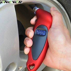 Araba Motosiklet Bisiklet Mini Dijital Tire Gauge Lastik Teşhis LCD Ekran Universal Araç Dijital Basınç Aracı Gauge var olmadı