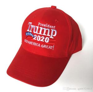 DHL New Donald Trump 2020 Baseball Cap Make America Great Again Hat Embroidery keep America Great Hats Republican President Trump Caps