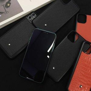 아이폰 11 프로 X XR XS MAX 7 8 플러스 패션 남자 여자의 커버를위한 럭셔리 비즈니스 브랜드의 악어 가죽 질감 하드 플라스틱 전화 케이스