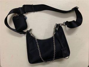 محافظ 2020 حقائب الكتف عالية الجودة من النايلون حقائب ذائع المحفظة حقائب النساء CROSSBODY حقيبة الأفاق مع مربع