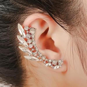 Livraison Gratuite Mixte 20pcs Personnalité féminine alliage Diamants cristal Boucles D'oreille clips d'oreilles oreille broches Party Dance Lolita Crâne Bijoux punk 18