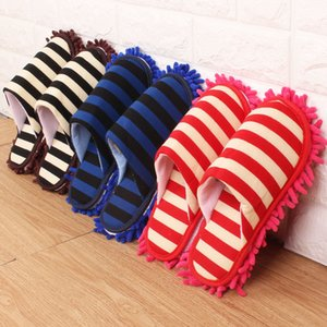 Multifunction Floor Dust Cleaning Slippers Shoe Lazy Mopping Shoes Mop Caps House Home Clean Cover Wipe Shoes Cleaning Tool
