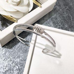 a alta qualidade banhados completos cúbicos pulseiras abertura zircônia manguito pulseiras para as mulheres recém-chegada venda quente festa de moda de luxo jóias