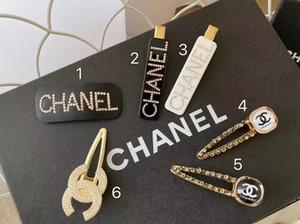 Femmes strass Lettre de luxe cheveux clip bling bling Lettre Barrettes Accessoires de mode cheveux Party cadeau