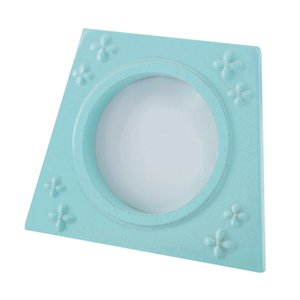 Mint Green Resin Picture Frame Photo Wedding Cornice Keepsake tavolo Photo Display supporto del banco, titolari di nozze tabella dei numeri