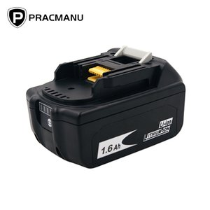 PRACMANU 18V 1600mAh Lithium Battery Battery Cordless Charger Battery For Electric Brushless Impact Wrench Y200323