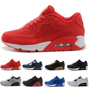 Nike air max 90 95 97 98 270 2017 Yüksek Kaliteli rahat Ayakkabılar Yastık Alr 90 KPU Erkek Klasik 90 rahat Ayakkabılar Eğitmenler Sneakers Adam Yürüyüş Spor tenis Ayakkabıları